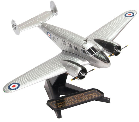 Twin Beech Expeditor C.2 (Beech 18) Ft996-811-HF 728 Squadron, Royal Naval Air Squadron, Royal Navy Fleet Air Arm, Malta, 1948 (1:72), Oxford Diecast 1:72 Scale Models, 72BE002