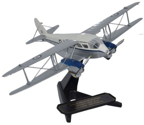 de Havilland DH.89 Dragon Rapide, Classic Air Force, G-AIDL, Royal Air Force livery (1:72), Oxford Diecast 1:72 Scale Models Item Number 72DR008