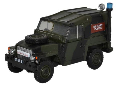 Land Rover 1/2-Ton Lightweight, Military Police (1:76 OO Scale) by Oxford Diecast Military Vehicles
