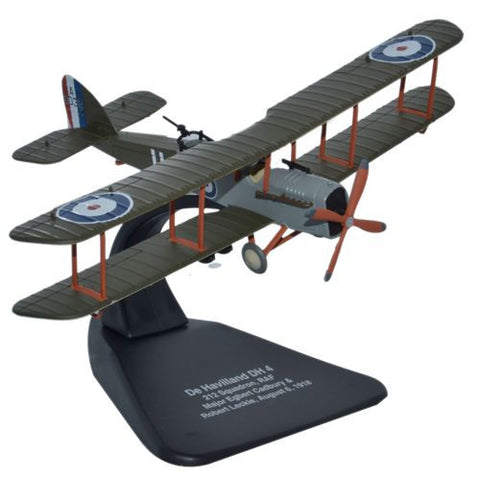 Airco (de Havilland) DH.4 - No. 212 Squadron, Royal Naval Air Service (RNAS), 1917-1918 (1:72), Oxford Diecast 1:72 Scale Models Item Number AD002