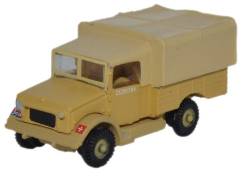 "Bedford MWD, British Army Royal Engineers, ""Mickey Mouse"" Camouflage, World War II (1:148 N Scale) by Oxford Diecast Military Vehicles"