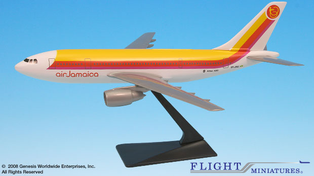 Air Jamaica (69-95) A300B2/B4 (1:200), Flight Miniatures Snap-Fit Airliners, Item Number AB-30000H-001
