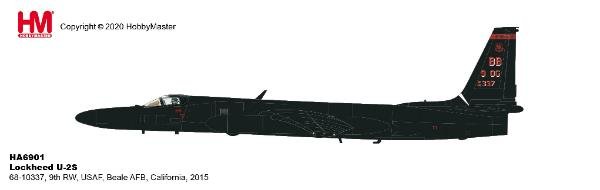 Hobby Master 1/72 Air Power Series HA6901 Lockheed U-2S 68-10337 9th RW USAF Beale AFB California 2015