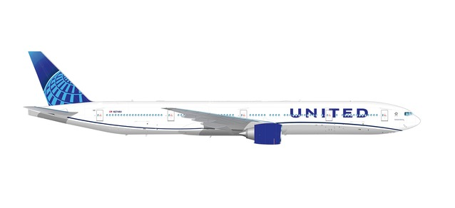 United 777-300ER 2019 NEW LIVERY (1:500) by Herpa 1:500 Scale Diecast Airliners <p> Item Number: HE534253