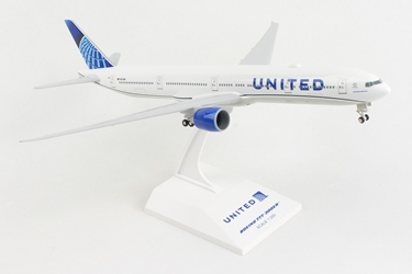 United 777-300 W/Gear 2019 New Livery (1:200)