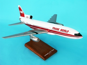 TWA L-1011 (1:100), TMC Pacific Desktop Airplane Models Item Number KL101TWAT