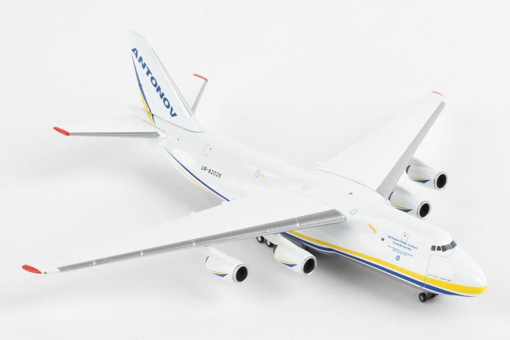 Antonov Airlines Antonov AN-124 UR-82029 (1:500) by Herpa 1:500 Scale Diecast Airliners Item Number HE526777-002