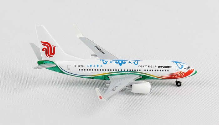 "Air China 737-700 B-5226 ""Pround Son of Heaven, Inner Mongolia"" (1:500), Herpa 1:500 Scale Diecast Airliners Item Number HE528023"