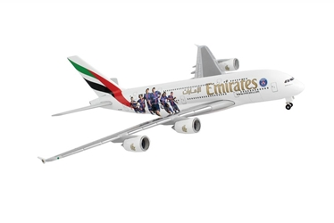 "Emirates Airbus A380 ""Paris St. Germain"" A6-EOT (1:500), Herpa 1:500 Scale Diecast Airliners Item Number HE529440"