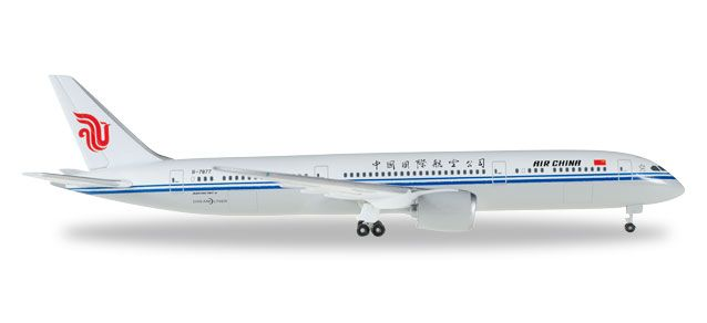 Air China Boeing 787-9 Dreamliner (1:500), Herpa 1:500 Scale Diecast Airliners Item Number HE529624