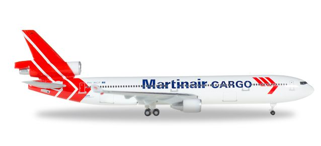 Martinair Cargo McDonnell Douglas MD-11F PH-MCP (1:500), Herpa 1:500 Scale Diecast Airliners Item Number HE529730