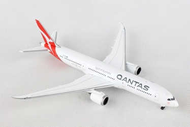 Qantas 787-9 Dreamliner, New Livery, VH-ZNA (1:500), Herpa 1:500 Scale Diecast Airliners Item Number HE530545