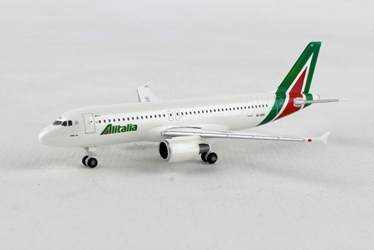 "Alitalia Airbus A320 ""Primo Levi"" EI-DSV (1:500), Herpa 1:500 Scale Diecast Airliners Item Number HE531542"