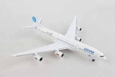 "Sabena Airbus A340-200 ""75th Anniversary"" (1:500), Herpa 1:500 Scale Diecast Airliners Item Number HE532655"