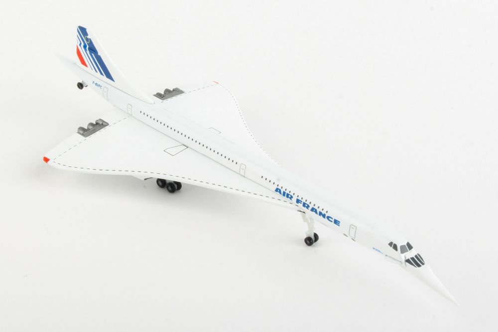 Air France Concorde - nose down position (1:500), Herpa 1:500 Scale Diecast Airliners, Item Number HE532839