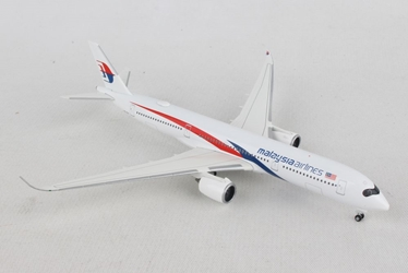 Malaysia Airlines Airbus A350-900 (1:500), Herpa 1:500 Scale Diecast Airliners, Item Number HE532990