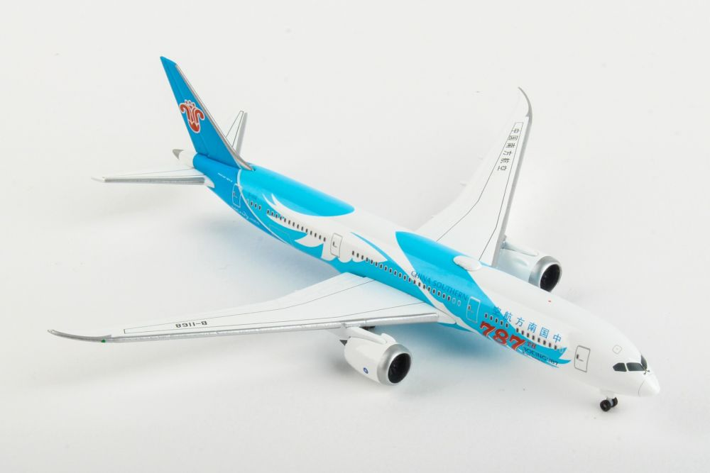 "China Southern Airlines Boeing 787-9 Dreamliner ""787th 787"" B-1168 (1:500) by Herpa 1:500 Scale Diecast Airliners Item Number HE533300"