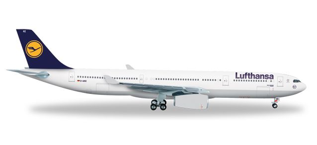 "Lufthansa A330-300 D-ABYC ""Landshut"" (1:200), Herpa 1:200 Scale Diecast Airliners Item Number HE556583"