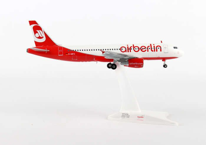 Air Berlin A320 D-ABFZ (1:200), Herpa 1:200 Scale Diecast Airliners Item Number HE557412