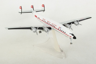 TWA Trans World Airlines Lockheed L-1649A Jetstream (1:200), Herpa 1:200 Scale Diecast Airliners, HE558372-001