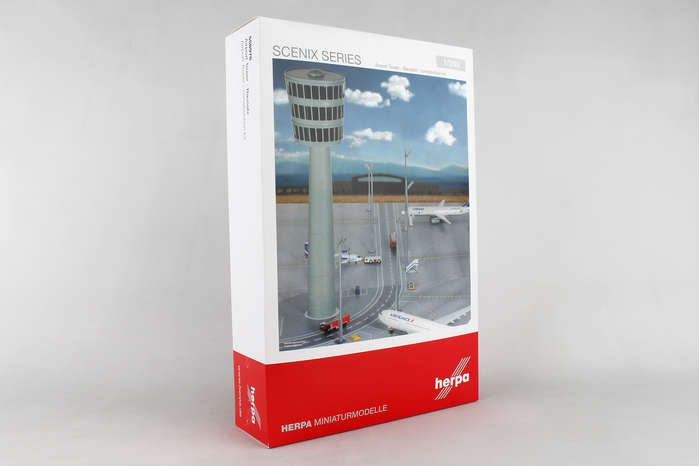 Airport Tower Kit (1:200), Herpa 1:200 Scale Diecast Airliners Item Number HE558976