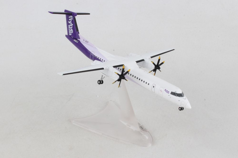 Flybe Bombardier Q400 G-JECP new colors (1:200) by Herpa 1:200 Scale Diecast Airliners Item Number HE559829