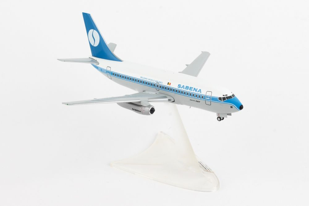 Sabena Boeing 737-200 (1:200) by Herpa 1:200 Scale Diecast Airliners