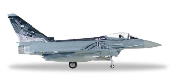 "Eurofighter Typhoon Lufthwaffe TaktLwG31 ""Spirit of Boelcke"" (1:72), Herpa 1:72 Item Number HE580199"