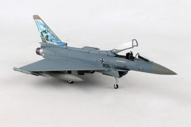 "Luftwaffe Eurofighter Typhoon, TaktLwG 74 ""Bavarian Tigers"" NATO Tiger Meet 2017 ""Atlantic Tiger"" 3026 (1:72) - Preorder item,, Herpa 1:72 Item Number HE580359"