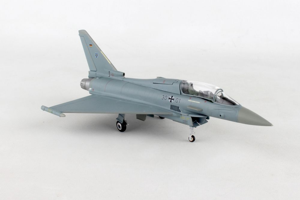 "Luftwaffe Eurofighter Typhoon twin-seat - TaktLwG 73 ""Steinhoff"", Laage Air Base (1:72), Herpa 1:72 Item Number HE580397"