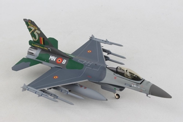 "Royal Belgian Air Force Lockheed Martin F-16A - 350 Squadron ""Ambiorix"", Florennes AB ""75 Years"" (1:72), Herpa 1:72, HE580434"