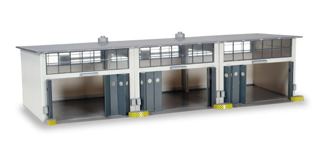 Building 3 Stall Repair Facility (1:87), Herpa HO Scale Models Item Number HE745802