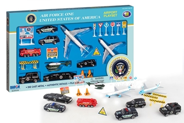 Air Force One Large Playset, Realtoy Diecast Toys Item Number RT5732