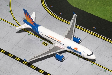 Allegiant A320 N221NV (1:200), GeminiJets 200 Diecast Airliners, Item Number G2AAY458