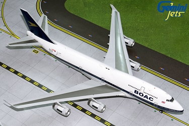 British Airways B747-400 (BOAC Retro Livery) G-BYGC (1:200) by GeminiJets 200 Diecast Airliners Model number G2BAW834
