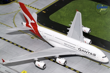 Qantas A380 New Livery VH-OQF (1:200), GeminiJets 200 Diecast Airliners, Item Number G2QFA748