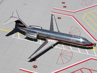 US Air DC-9-30 N932VJ Polished, Red, White, Blue (1:200), GeminiJets 200 Diecast Airliners, Item Number G2USA272