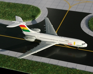 Ghana Airways Standard VC-10 (1:400), GeminiJets 400 Diecast Airliners, Item Number GJGHA689