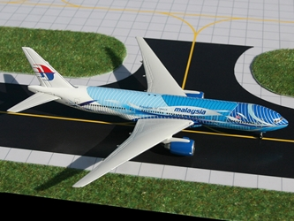 "Malaysia Airlines B777-200ER ""Freedom of Space"" 9M-MRD (1:400)"