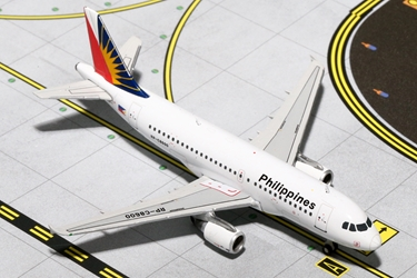 Philippines A319 RP-C8600 (1:400), GeminiJets 400 Diecast Airliners Item Number GJPAL1435
