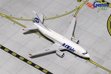 UTAir B737-500 VP-BVN (1:400), GeminiJets 400 Diecast Airliners Item Number GJUTA1582