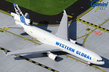 Western Global Airlines MD-11F Western Global N799JN (1:400)