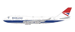 British Airways 747-400 (1:200) by GeminiJets, Item Number: G2BAW841