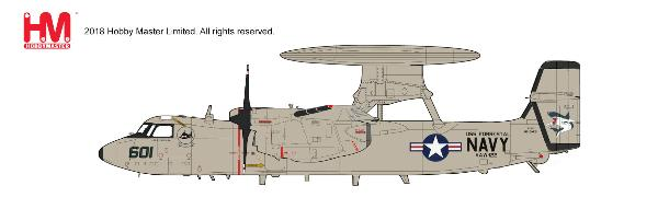 "E-2C Hawkeye VAW-122 ""Steel Jaws"", USS Forrestal 1991 (1:72) - Preorder item, order now for future delivery, Hobby Master Diecast Airplanes Item Number HA4810"